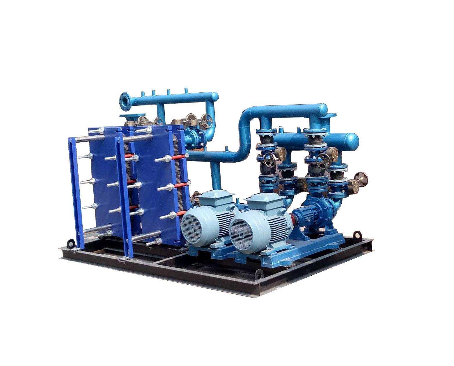 山东地源热泵水力模块